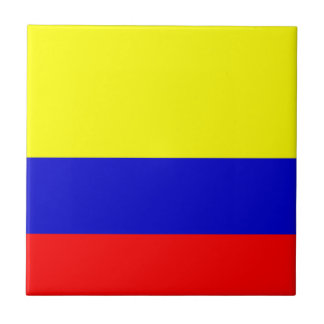Flag of Colombia Tile