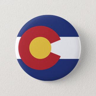 Flag of Colorado 2 Inch Round Button