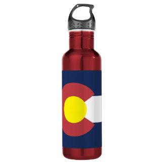 Flag of Colorado 710 Ml Water Bottle