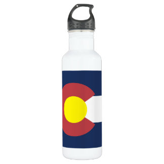 Flag of Colorado 710 Ml Water Bottle