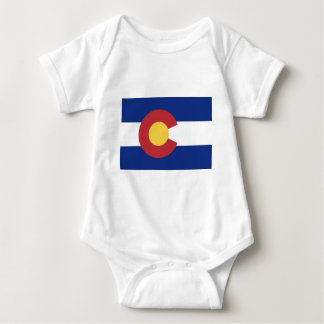 Flag of Colorado Baby Bodysuit