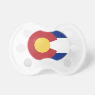 Flag of Colorado Baby Pacifiers