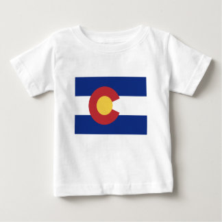 Flag of Colorado Baby T-Shirt