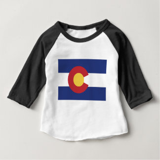 Flag of Colorado Baby T-Shirt