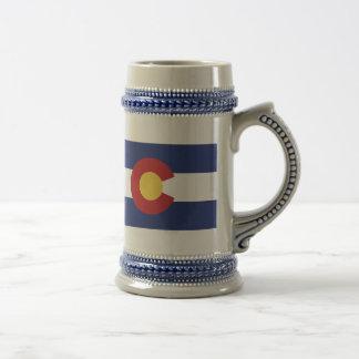 Flag of Colorado Beer Stein