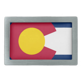 Flag Of Colorado Belt Buckles