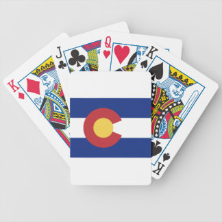 Flag of Colorado Bicycle Playing Cards