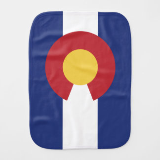Flag of Colorado Burp Cloth