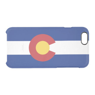Flag of Colorado Clear iPhone Case
