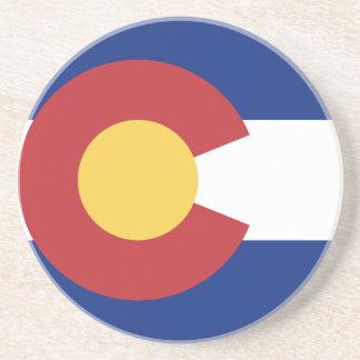 Flag of Colorado Coaster