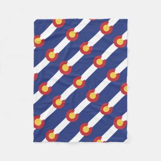 Flag of Colorado Fleece Blanket