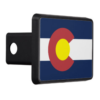 Flag of Colorado Hitch Covers