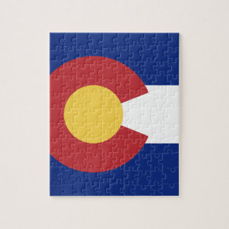 Flag of Colorado Jigsaw Puzzle