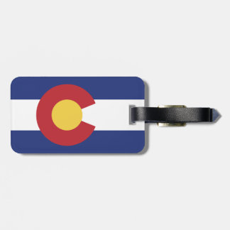 Flag of Colorado Luggage Tag