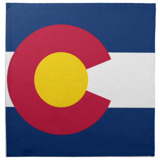 Flag Of Colorado Napkin