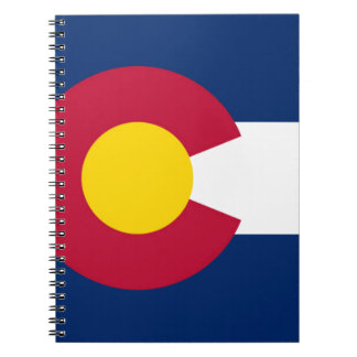 Flag Of Colorado Spiral Notebook
