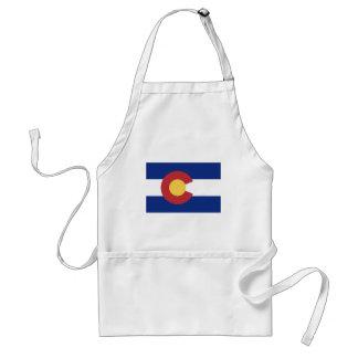 Flag of Colorado Standard Apron