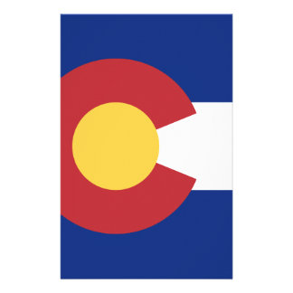 Flag of Colorado Stationery