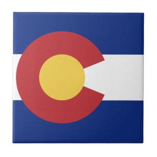 Flag of Colorado Tile