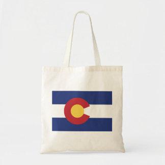 Flag of Colorado Tote Bag