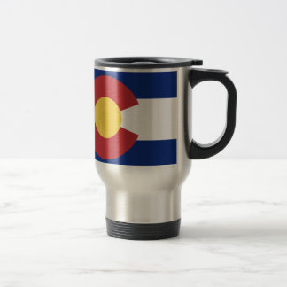 Flag of Colorado Travel Mug