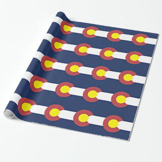 Flag of Colorado Wrapping Paper