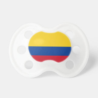 Flag of Columbia, Republic of Colombia Baby Pacifiers