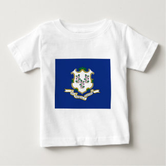 Flag Of Connecticut Baby T-Shirt