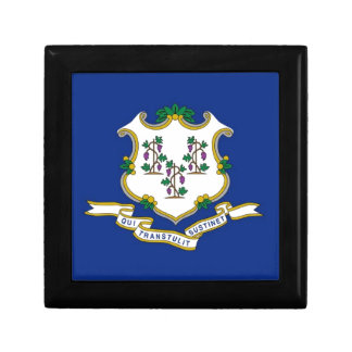 Flag Of Connecticut Gift Box