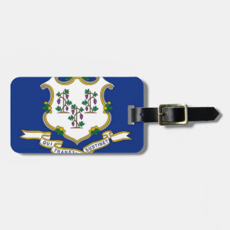 Flag Of Connecticut Luggage Tag