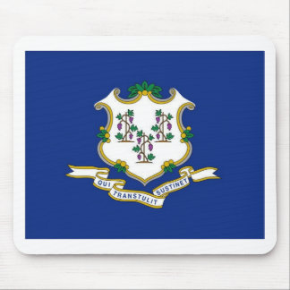 Flag Of Connecticut Mouse Pad