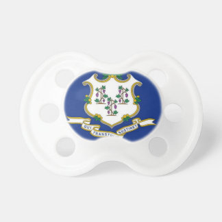 Flag Of Connecticut Pacifier