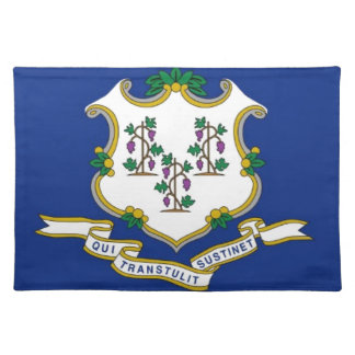 Flag Of Connecticut Placemat