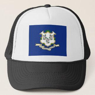 Flag Of Connecticut Trucker Hat