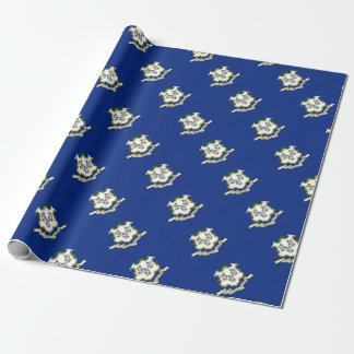 Flag Of Connecticut Wrapping Paper