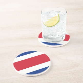 Flag of Costa Rica Drink Coaster