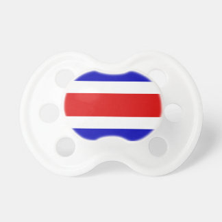 Flag of Costa Rica Pacifier