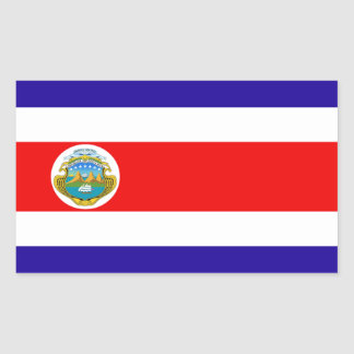 Flag of Costa Rica Sticker