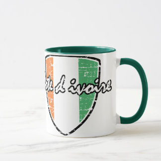 Flag of Cote D' Ivoire Mug