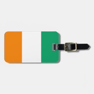 Flag of Cote d'Ivoire Easy ID Personal Luggage Tag