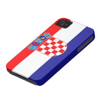 Flag of Croatia Case-Mate iPhone 4 Cases