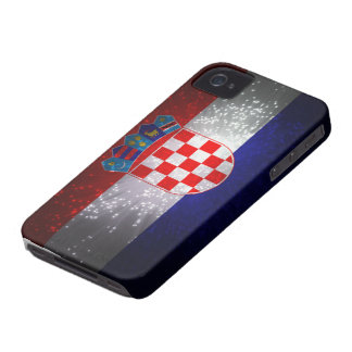 Flag of Croatia iPhone 4 Covers