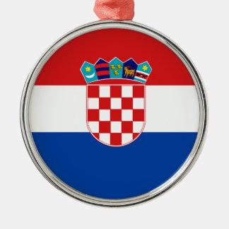 Flag of Croatia Metal Ornament
