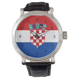Flag of Croatia Wristwatches