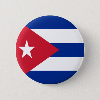 Flag of Cuba 2 Inch Round Button