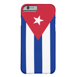 Flag of Cuba Barely There iPhone 6 Case