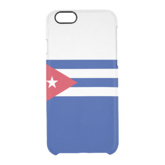 Flag of Cuba Clear iPhone Case