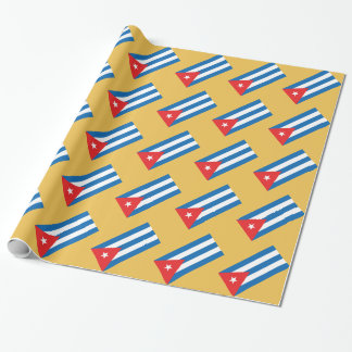Flag of Cuba iPad Case Wrapping Paper