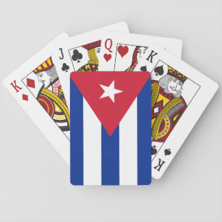 Flag of Cuba Playing Cards