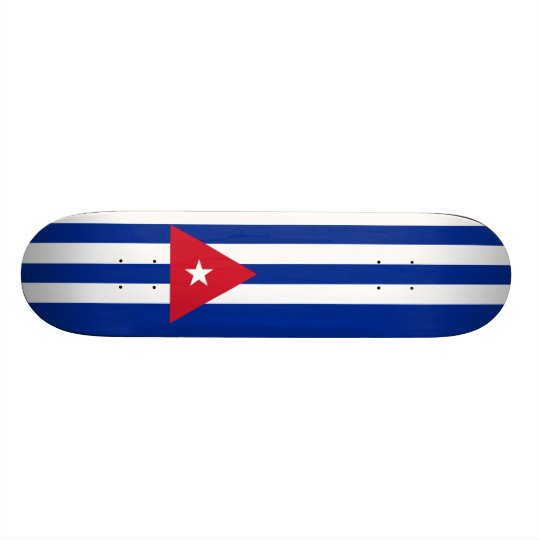 Flag of Cuba Skateboard Deck